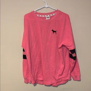 PINK Victoria's Secret Sweater w/ palm trees